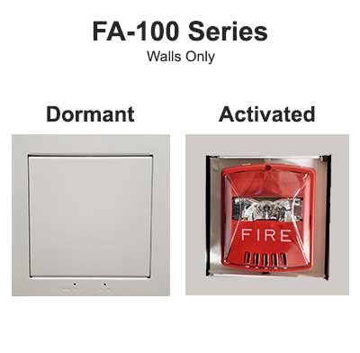 Concealed Fire Alarm Series FA-100