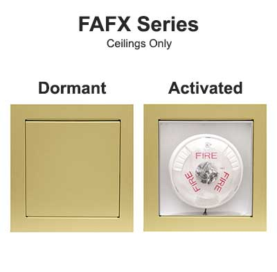 Concealed Fire Alarm Series FAFX